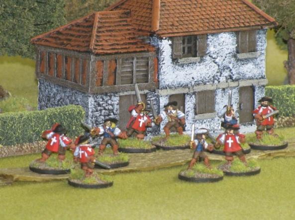 Three Musketeer fight
